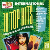 Cover  - Top 13 (94) 18 Top Hits brandheiss aus den Charts 5/94