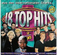 Cover  - Top 13 (98) 18 Top Hits aus den Charts 2/98