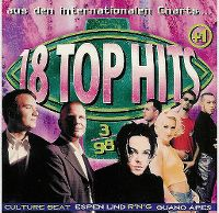 Cover  - Top 13 (98) 18 Top Hits aus den Charts 3/98