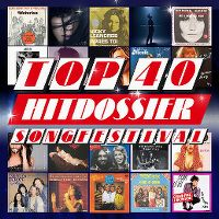 Cover  - Top 40 Hitdossier - Songfestival
