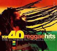 Cover  - Top 40 Reggae Hits - The Ultimate Top 40 Collection