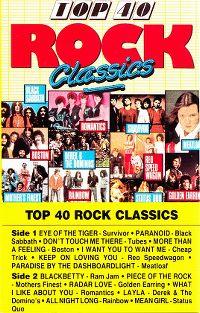 Cover  - Top 40 Rock Classics