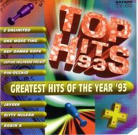 Cover  - Top Hits 93 - Greatest Hits Of The Year '93