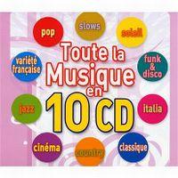 Cover  - Toute la musique en 10 CD