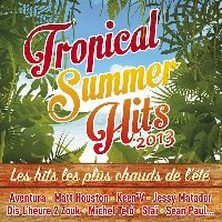 Cover  - Tropical Summer Hits 2013