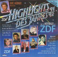 Cover  - Uwe Hübner präsentiert: Highlights des Jahres 91/92 aus der Hitparade im ZDF