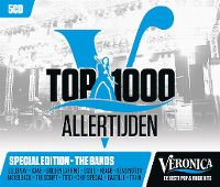 Cover  - Veronica Top 1000 Allertijden - Special Edition - The Bands