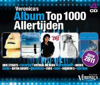 Cover  - Veronica's Album Top 1000 Allertijden - Editie 2011