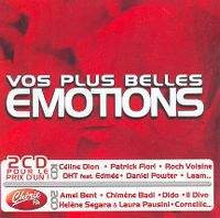Cover  - Vos plus belles émotions
