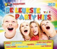 Cover  - vtmKzoom presenteert: De leukste party hits vol. 2