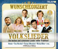 Cover  - Wunschkonzert - Volkslieder