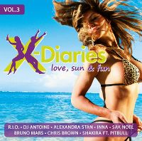 Cover  - X-Diaries - Love, Sun & Fun Vol. 3
