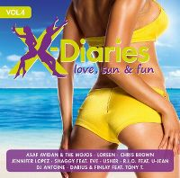 Cover  - X-Diaries - Love, Sun & Fun Vol. 4