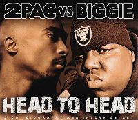 Cover 2Pac vs Biggie - 2Pac vs Biggie