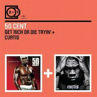 Cover 50 Cent - 2 For 1: Get Rich Or Die Tryin' + Curtis