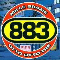 Cover 883 - Mille grazie