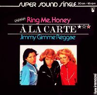 Cover À La Carte - Ring Me, Honey