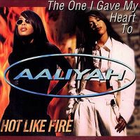 Cover Aaliyah - The One I Gave My Heart To
