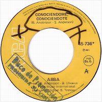 Cover ABBA - Conociéndome, conociéndote
