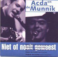 Cover Acda en de Munnik - Niet of nooit geweest
