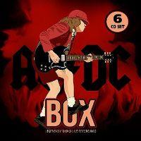 Cover AC/DC - Box - Legendary Radio Live Recordings