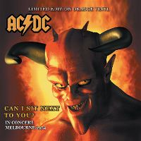 Cover AC/DC - Can I Sit Next To You? In Concert Melbourne 1974