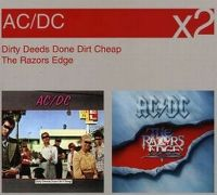 Cover AC/DC - Dirty Deeds Done Dirt Cheap / The Razor's Edge