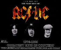 Cover AC/DC - Greatest Hits In Concert 1974-1996