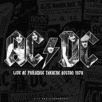 Cover AC/DC - Live At Paradise Theatre Boston 1978
