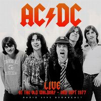 Cover AC/DC - Live At The Old Waldorf - 3rd Sept 1977