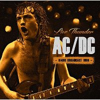 Cover AC/DC - Live Thunder - Radio Broadcast 1996