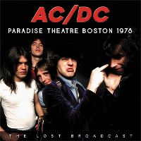 Cover AC/DC - Paradise Theatre Boston 1978