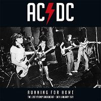 Cover AC/DC - Running For Home - The Lost Sydney Broadcast - 30th January 1977