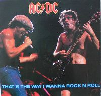 Cover AC/DC - That's The Way I Wanna Rock'n'Roll
