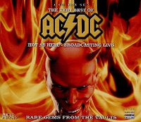 Cover AC/DC - The Very Best Of AC/DC - Hot As Hell - Broadcasting Live