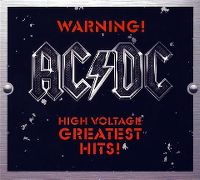 Cover AC/DC - Warning! High Voltage - The Greatest Hits