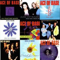 Cover Ace Of Base - Singles Of The 90s