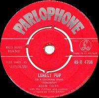 Cover Adam Faith With The Children - Lonely Pup (In A Christmas Shop)