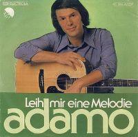 Cover Adamo - Leih mir eine Melodie
