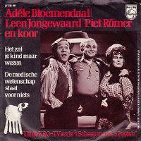 Cover Adèle Bloemendaal, Leen Jongewaard & Piet Römer - Het zal je kind maar wezen