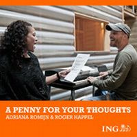 Cover Adriana Romijn & Roger Happel - A Penny For Your Thoughts