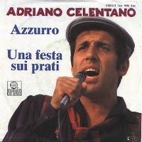 Cover Adriano Celentano - Azzurro