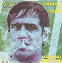 Cover Adriano Celentano - Eravamo in 100'000