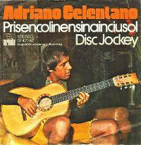 Cover Adriano Celentano - Prisencolinensinainciusol