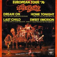 Cover Aerosmith - European Tour '76