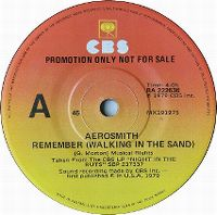 Cover Aerosmith - Remember (Walking In The Sand)