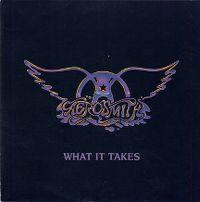 Cover Aerosmith - What It Takes