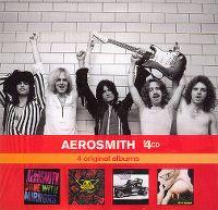 Cover Aerosmith - x4CD: 4 Original Albums