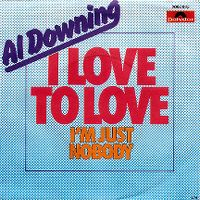 Cover Al Downing - I Love To Love