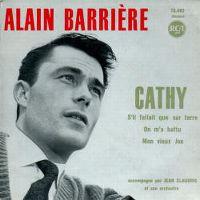 Cover Alain Barrière - Cathy